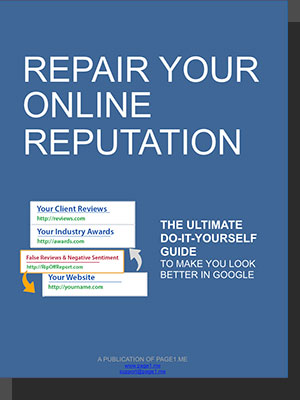 Free DIY online reputation repair